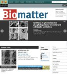 Biomatter new website june2013
